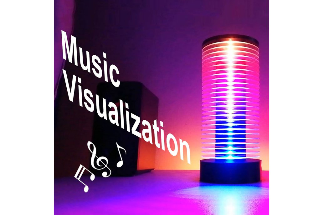 Muzio VU Meter LED Music Tower 1