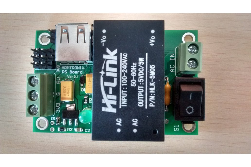 MI002:Power Supply 5VDC/5W 1