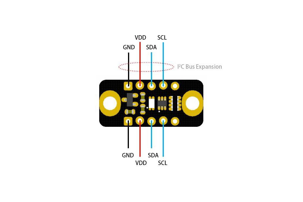 VEML6075 UV AB Light Sensor Module for Arduino 2