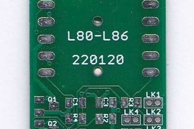 Breakout Board Quectel L80 and L86 GPS