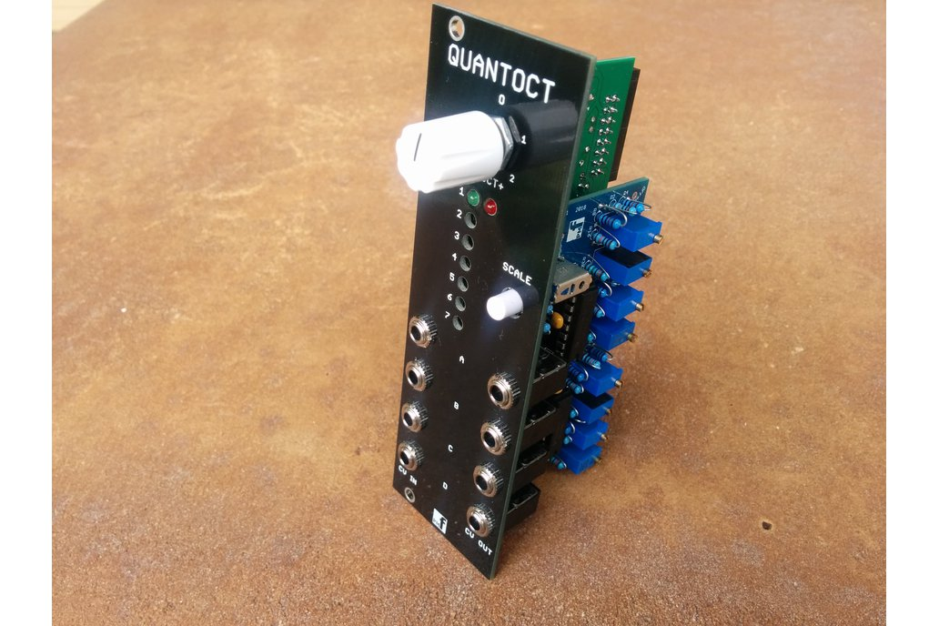 Quantoct - 4 channel quantizer (Eurorack PCB Set) 8