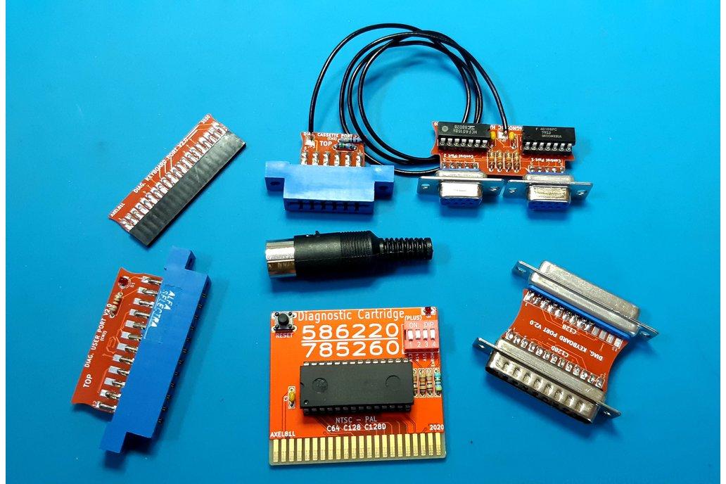 Diagnostic harness complete HQ Commodore 64 / 128 1