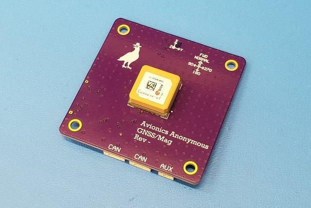 UAVCAN GPS / Magnetometer