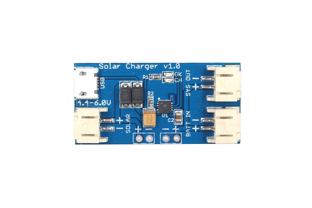 6A Lithium Battery Solar Charging Board_GY19589 1