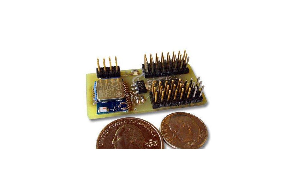 Blue-Rx: A 16ch Bluetooth 4.0 Servo Controller 1