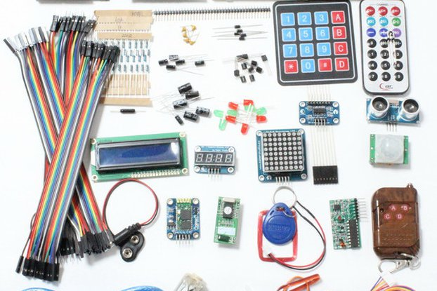 Deluxe Uno R3 Basic Kit Starter Learning Kit