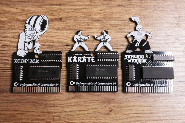 Three cartridge based Commodore 64 games