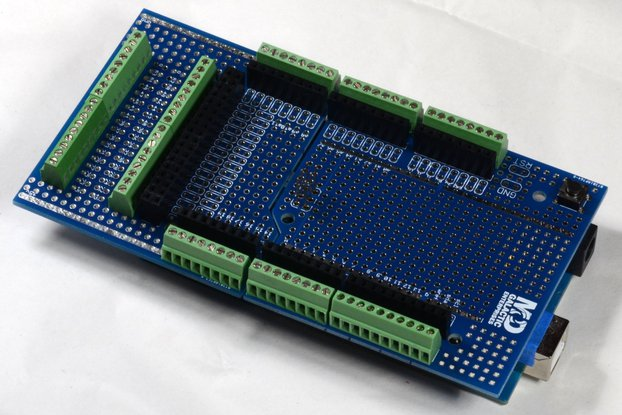 Screw-Block Proto-Shield System for Arduino, Combo