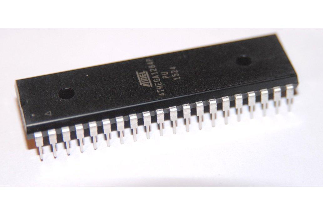 ATMEGA1284P-PU Dip 40 chip with Arduino Bootloader 1