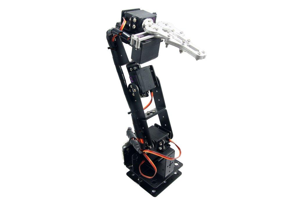 6 DOF Robot Arm Clamp Mount Kit 2