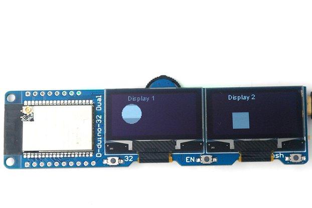 DSTIKE D-duino-32 Dual