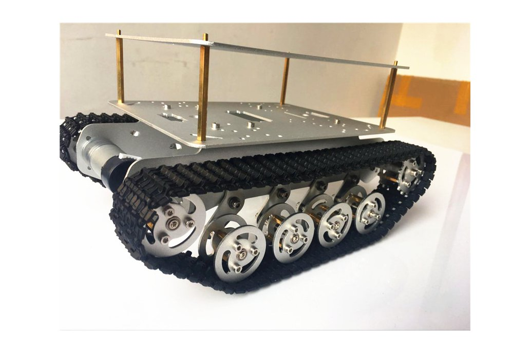 Double Panel Metal Shock Absorption Robot Tank Car 3