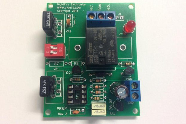 Timer with Adjustable ON & OFF Times, 5v Relay (#5478)