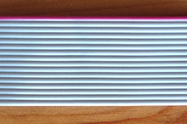 "Ribbon cable 15 cm (6"") long"