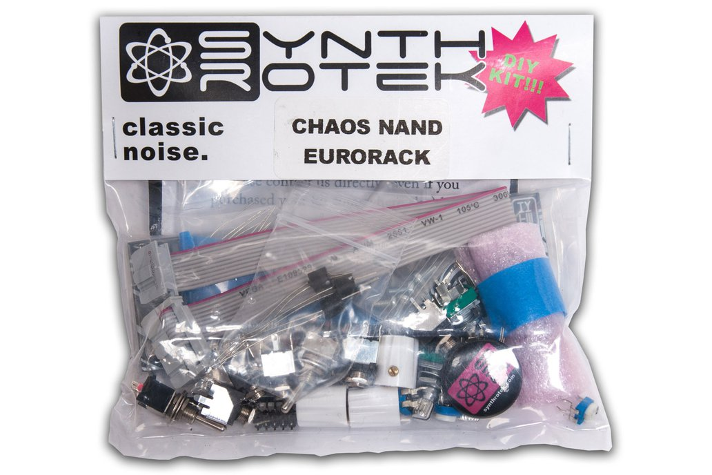 4093 Chaos NAND Kit - Eurorack 1