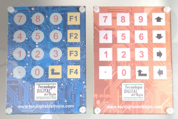 4x4 Capacitive keypad (touch)