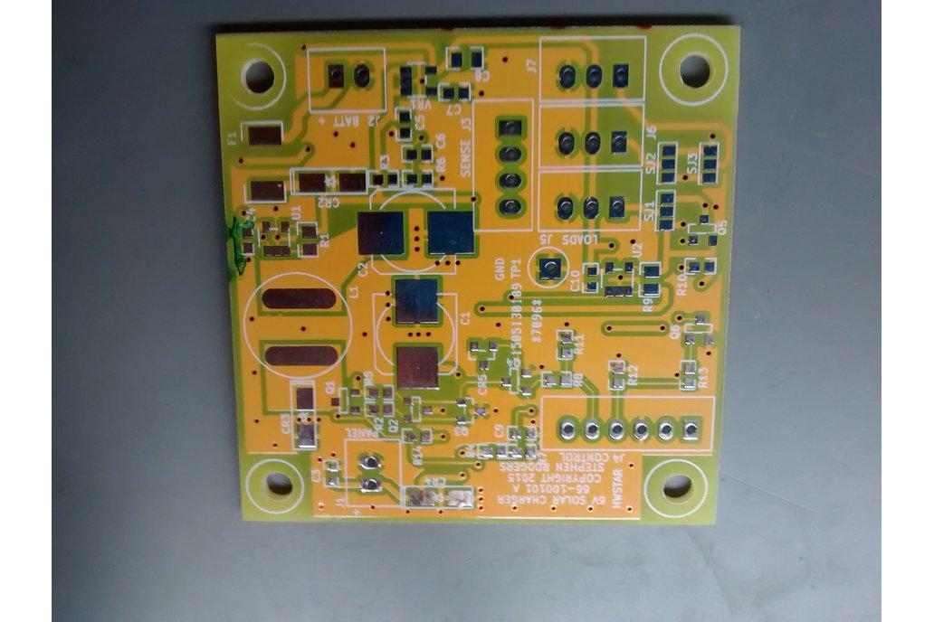 Board Blank: 6 Volt 5 Watt Solar Charge Controller 1