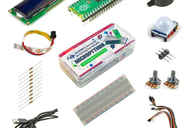 Pico Starter Kit w/ Breadboard