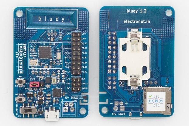 Bluey nRF52832 BLE development board