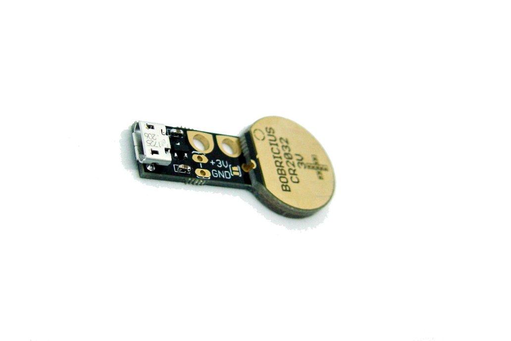 Coin cell battery emulator CR2016/CR2032 3