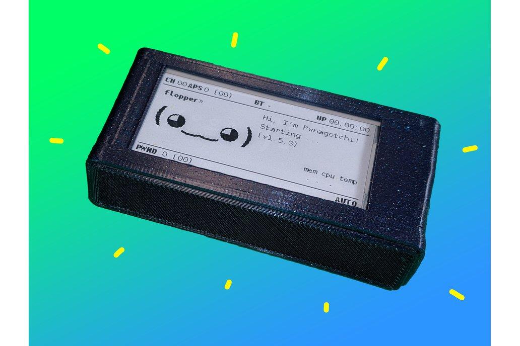 Pre Assembled Pwnagotchi - Case, Screen, & Battery 1