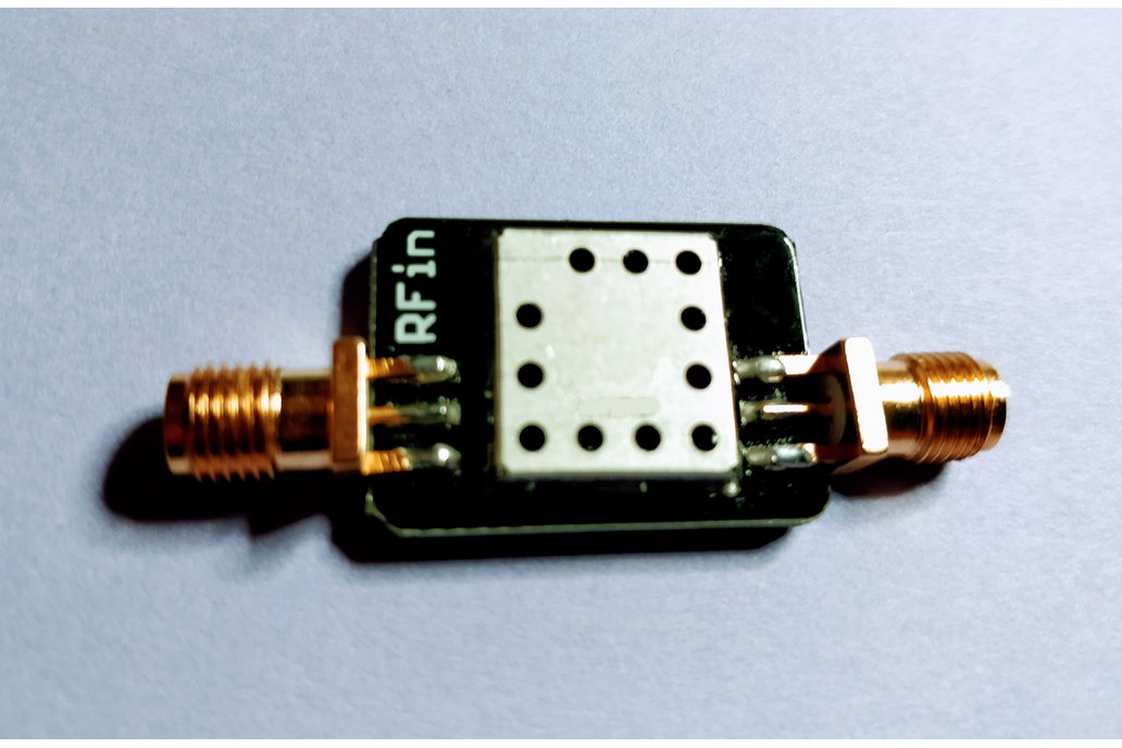 869 MHz RF Band-pass Filter 10 MHz Bandwith