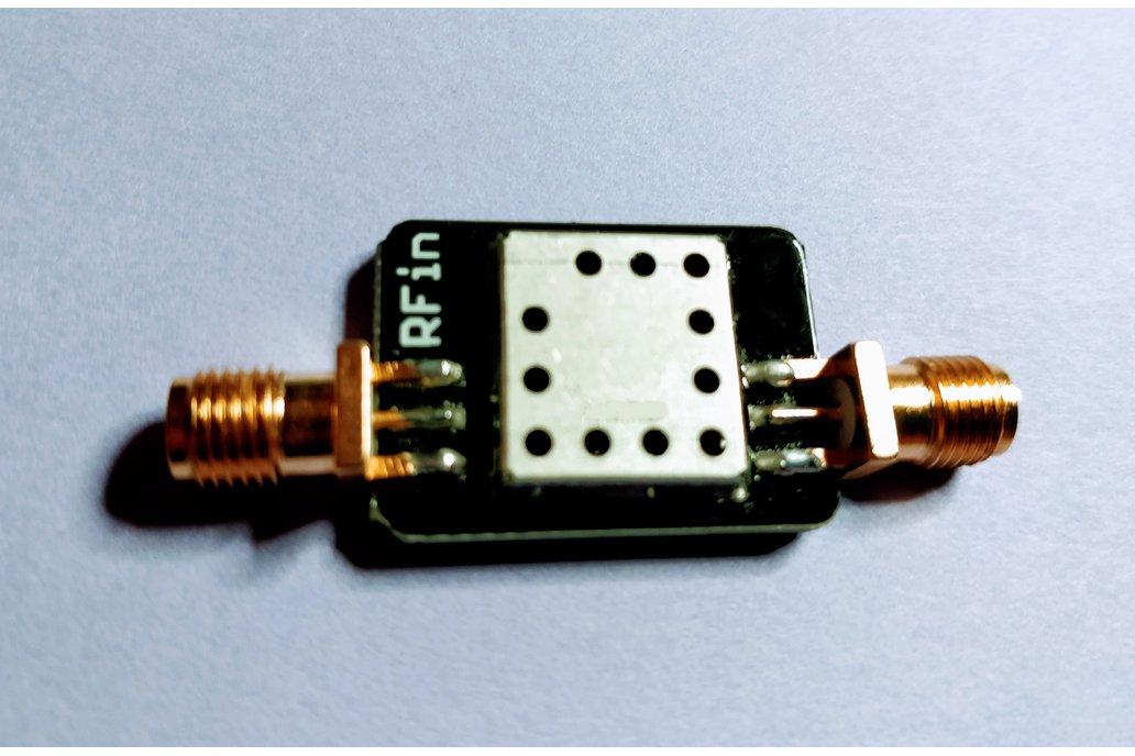869 MHz RF Band-pass Filter 10 MHz Bandwith 1