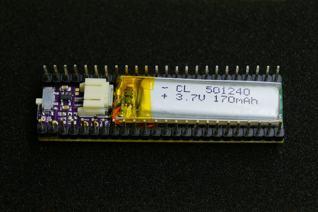 Nano-sized LiPo Charger for Teensy 1