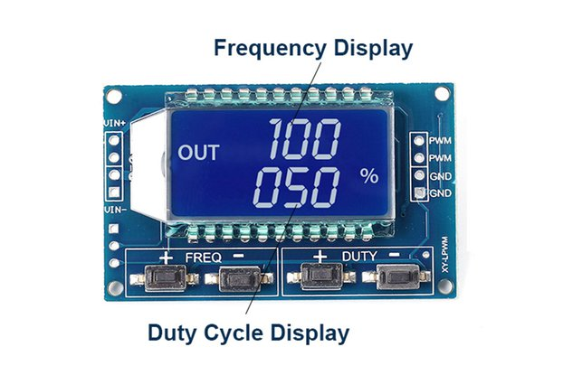 Signal Generator PWM LCD Display(12477)