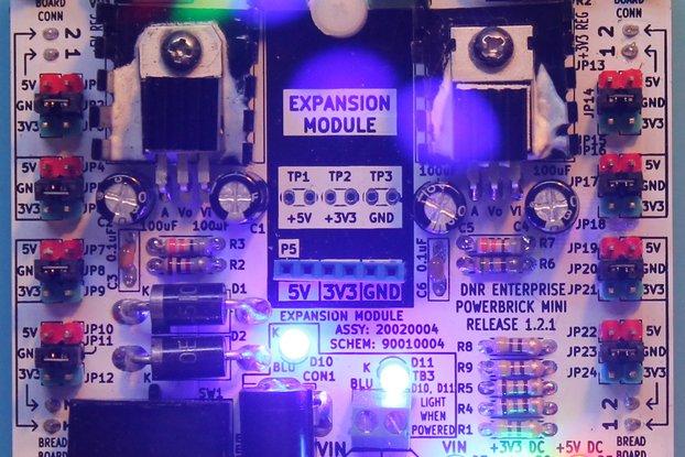 PowerBrick Mini - Two Regulator Power Supply