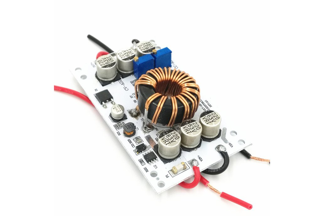 600W BOOST converter 12V step up 12-60V out adjust 1