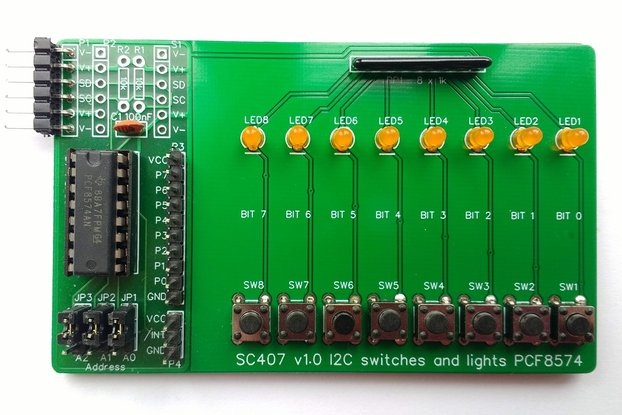 SC407 I2C Switches and Lights Module Kit