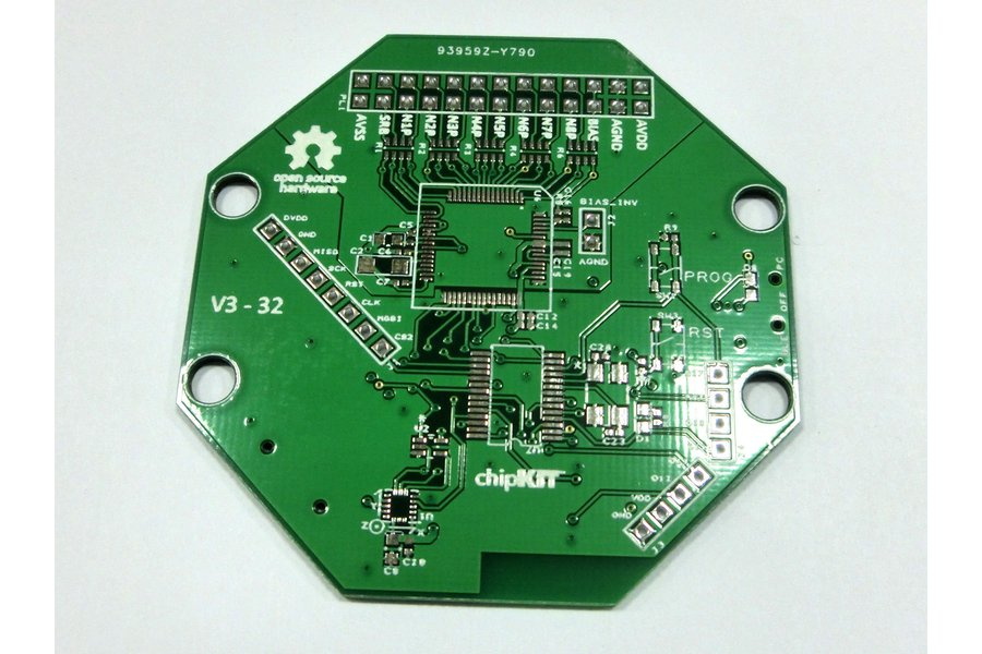 Bare PCB for OpenBCI 32bit Board Kit (8-channel)