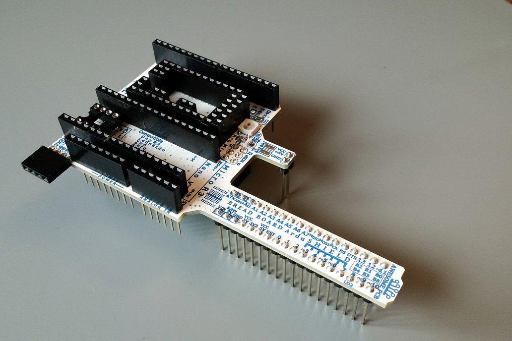 ArduSHIELD - universal shield for Arduino 3