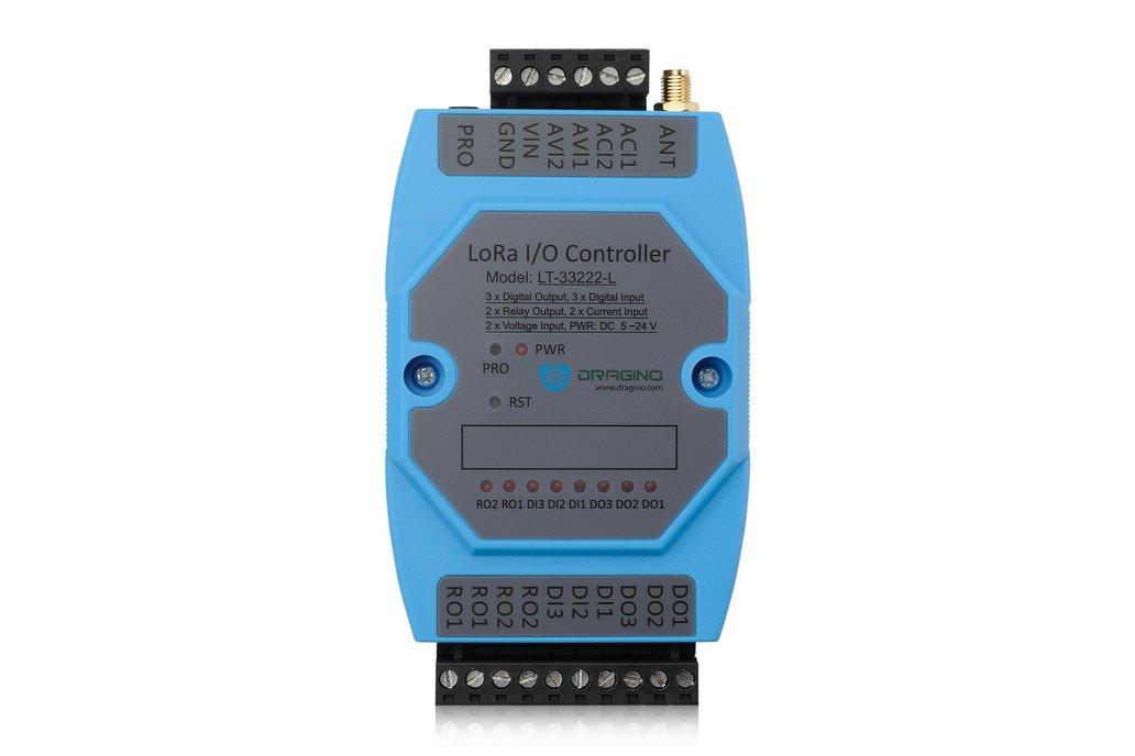 LT-33222-L, LoRaWAN I/O Controller. 4
