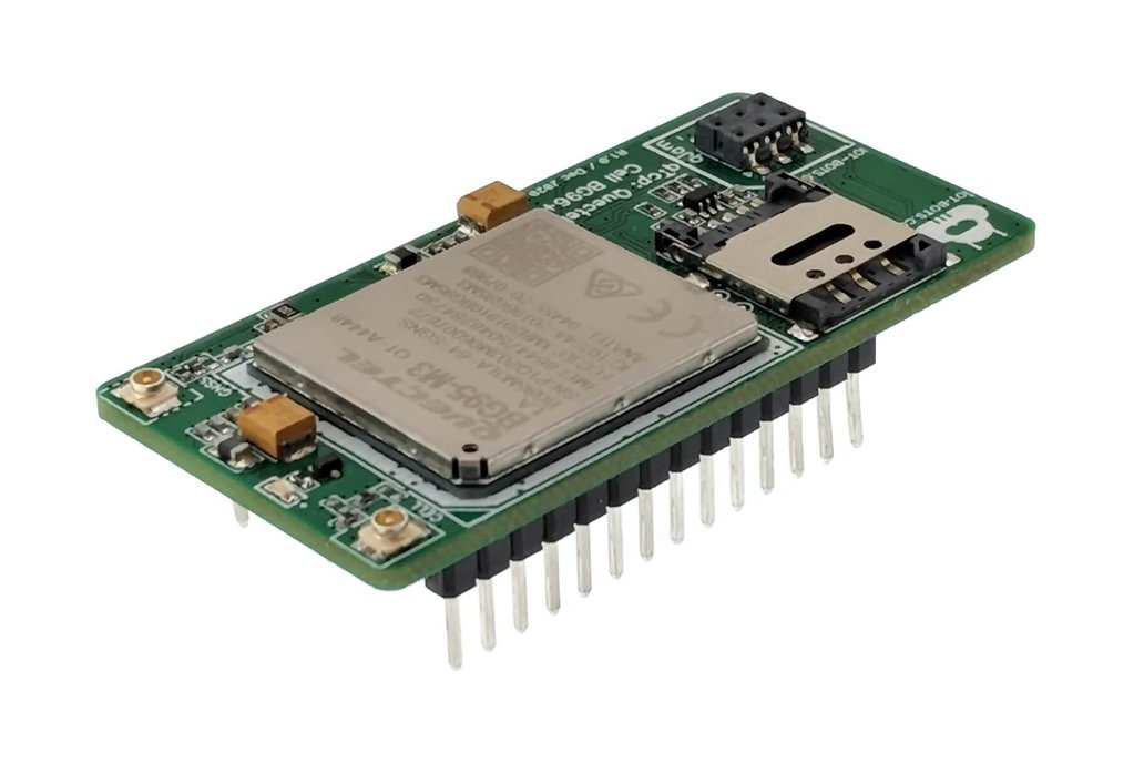 Feather Compatible LTE/GNSS BG95 Shield 1