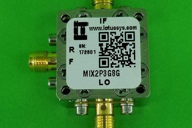 Frequency Mixer 2.3G - 8GHz RF (Passive)