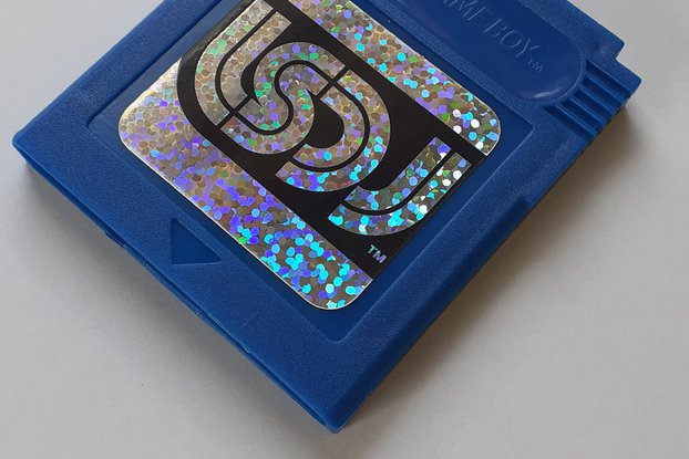 LSDJ Nintendo Gameboy Cartridge.
