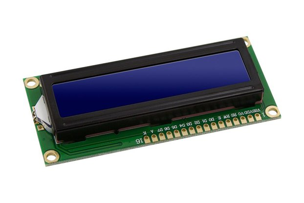 LCD Module Display Monitor 1602 5V Blue Screen