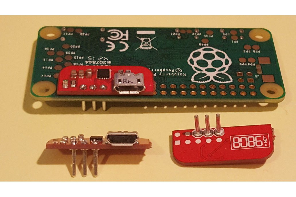 Solderless Serial to USB adapter for Raspberry Pi 1