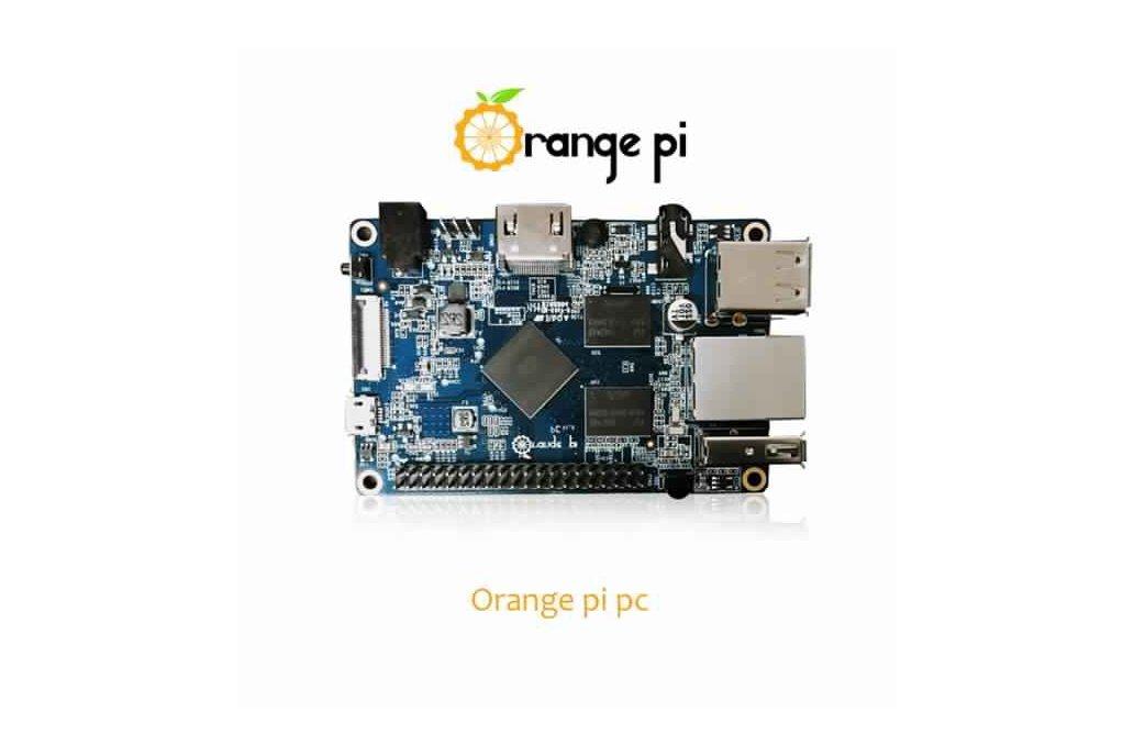 Orange Pi PC H3 Quad-core Learning Development 1