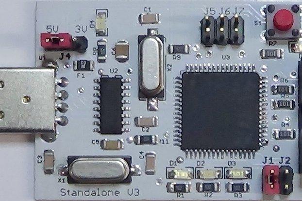 AVR/ATmega/ATtiny Standalone Programmer V3.1