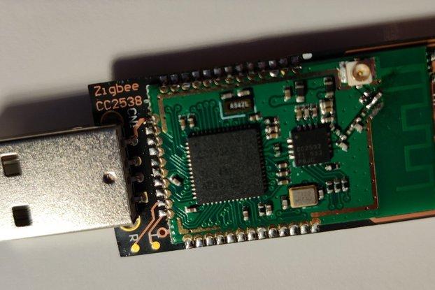 USB zigbee coordinator CC2538+CC2592 - ZB3.0