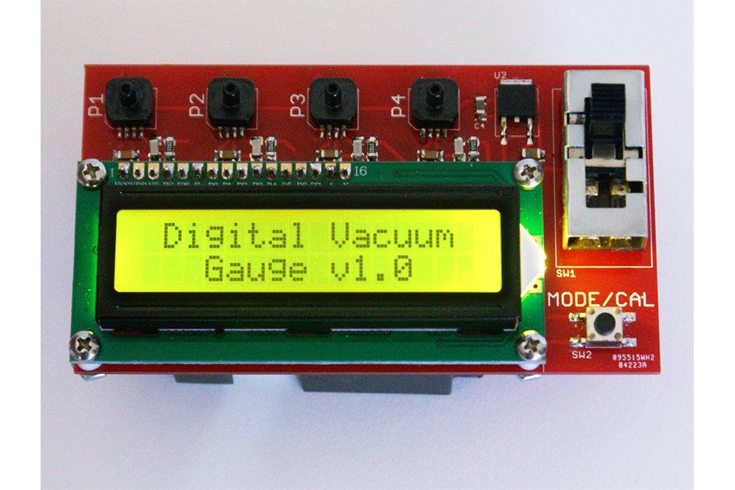 Digital Vacuum Gauge - Parts Kit 1