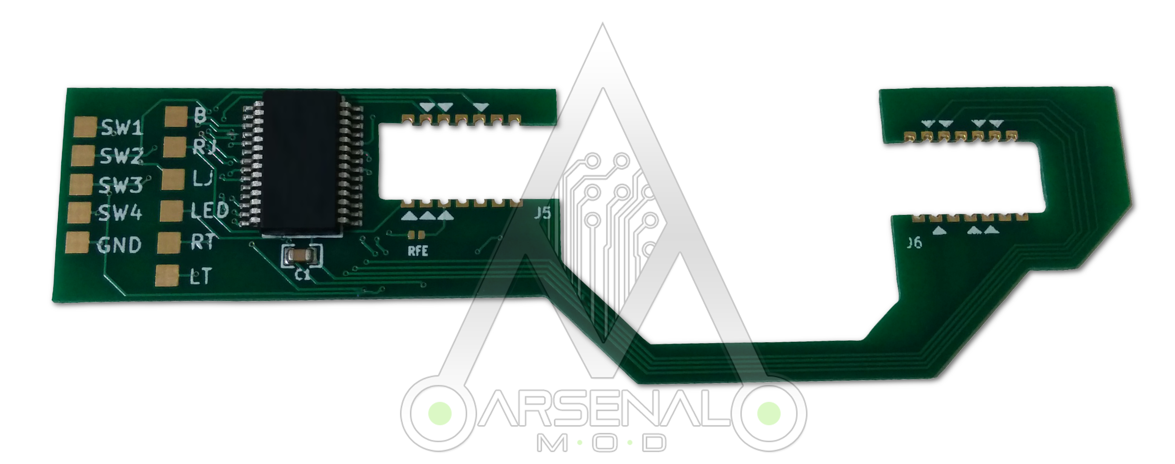 Xbox one controller remap pcb scuf like paddles from arsenalmod on xbox one controller remap pcb scuf like paddles 1 ccuart Images