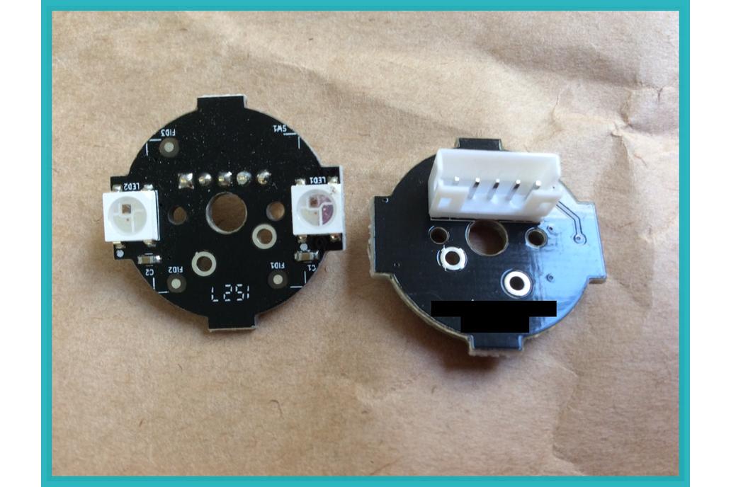 RGBPIXELs WS2812B compatible modules + JST cables 1