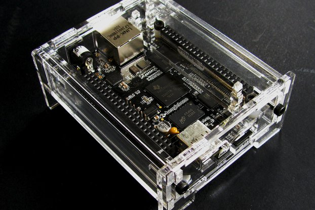 BeagleBone Black Enclosure - Clear Acrylic