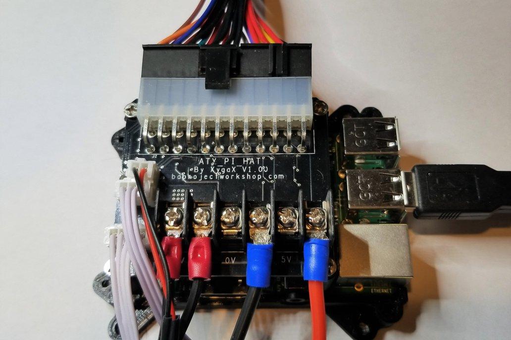 ATXPiHat - ATX PSU Interface for 3D Printers 3