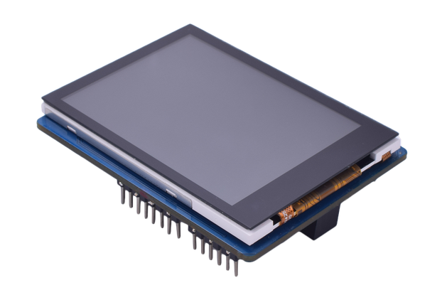 """2.8"""" Capacitive Touch Display for Arduino And mbed"""
