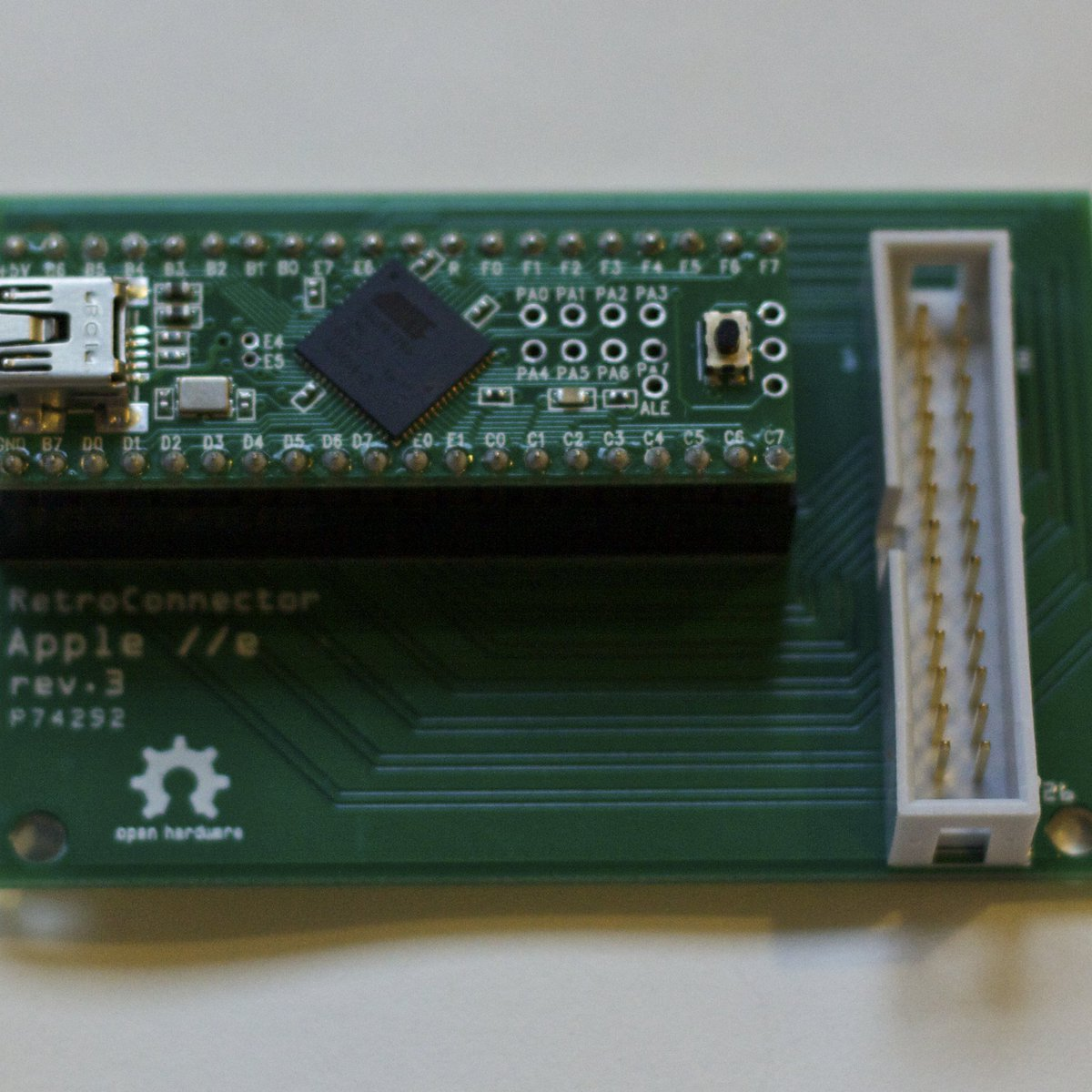 RetroConnector keyboard shield for Apple IIe from Option8, LLC on Tindie